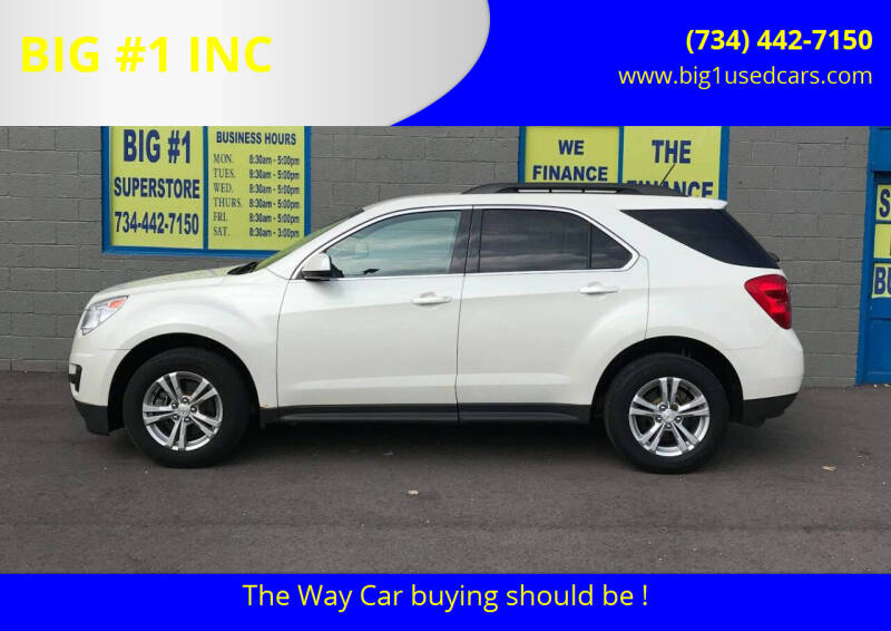 2013 Chevrolet Equinox for sale at BIG #1 INC in Brownstown MI