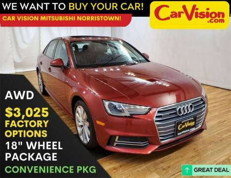 2018 Audi A4 for sale at Car Vision Mitsubishi Norristown in Norristown PA