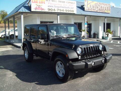 2015 Jeep Wrangler Unlimited for sale at LONGSTREET AUTO in St Augustine FL