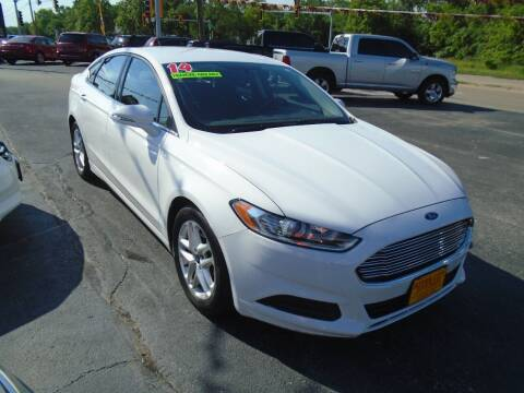 2014 Ford Fusion for sale at River City Auto Sales in Cottage Hills IL
