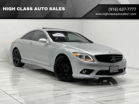 2008 Mercedes-Benz CL-Class for sale at HIGH CLASS AUTO SALES in Rancho Cordova CA