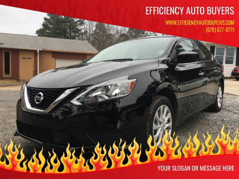 2019 Nissan Sentra for sale at Efficiency Auto Buyers in Milton GA