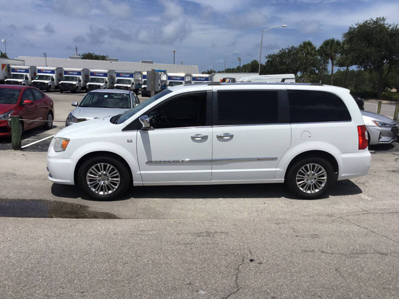 2014 Chrysler Town and Country for sale at Second 2 None Auto Center in Naples FL