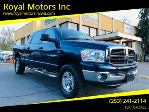 2007 Dodge Ram Pickup 1500 for sale at Royal Motors Inc in Kent WA