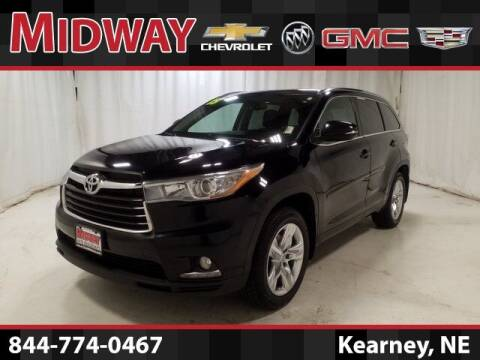 2015 Toyota Highlander for sale at Midway Auto Outlet in Kearney NE