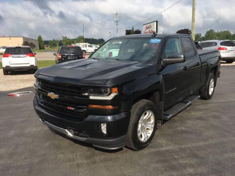 2016 Chevrolet Silverado 1500 for sale at JACK'S AUTO SALES in Traverse City MI