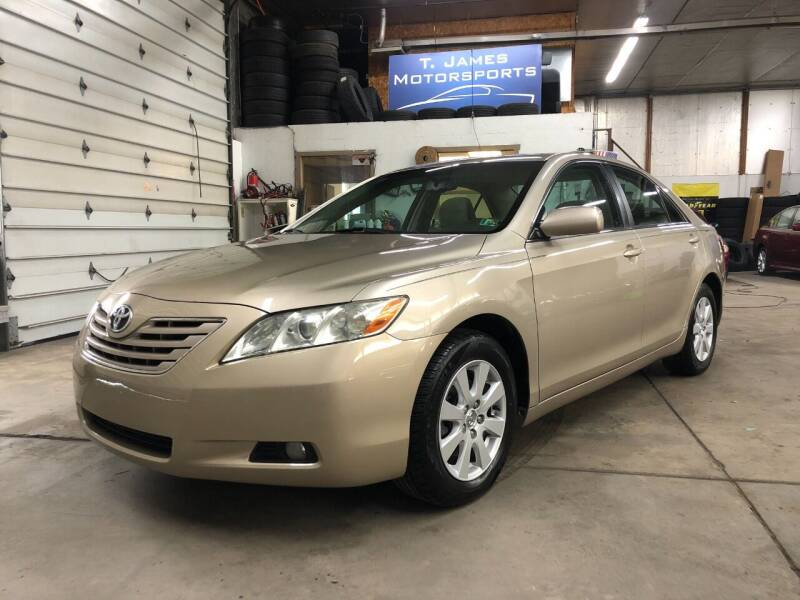 2007 Toyota Camry for sale at T James Motorsports in Gibsonia PA