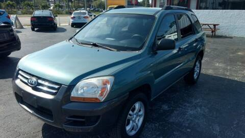 2006 Kia Sportage for sale at AFFORDABLE AUTO SALES in We Finance Everyone! FL