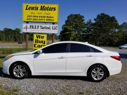 2013 Hyundai Sonata for sale at Lewis Motors LLC in Deridder LA