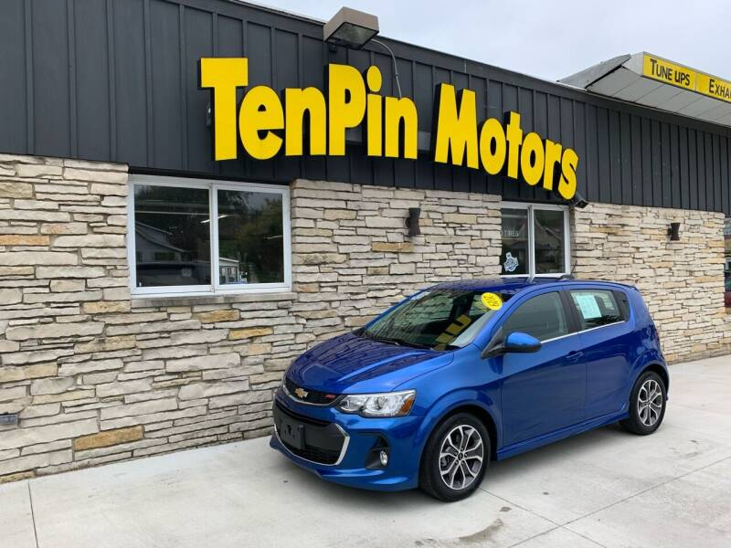 2019 Chevrolet Sonic for sale at TenPin Motors LLC in Fort Atkinson WI