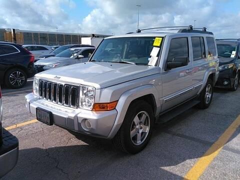 2010 Jeep Commander for sale at ATLANTIC MOTORS GP LLC in Houston TX
