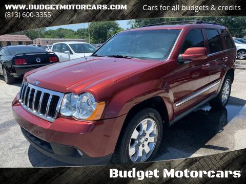 2008 Jeep Grand Cherokee for sale at Budget Motorcars in Tampa FL