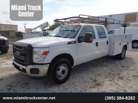 2016 Ford F-350 Super Duty for sale at Miami Truck Center in Hialeah FL