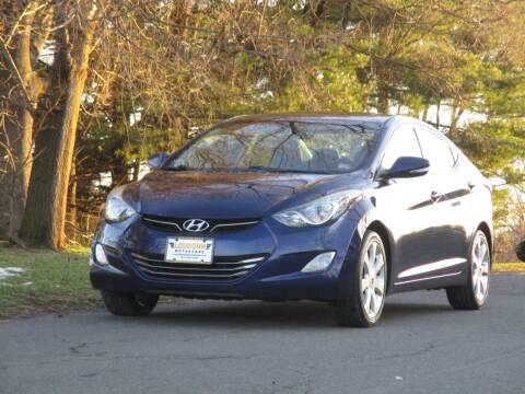 2012 Hyundai Elantra for sale at Loudoun Used Cars in Leesburg VA