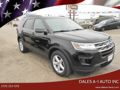 2018 Ford Explorer for sale at Dales A-1 Auto Inc in Jamestown ND