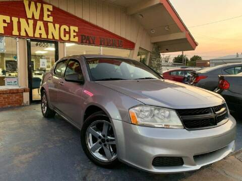 2013 Dodge Avenger for sale at Caspian Auto Sales in Oklahoma City OK