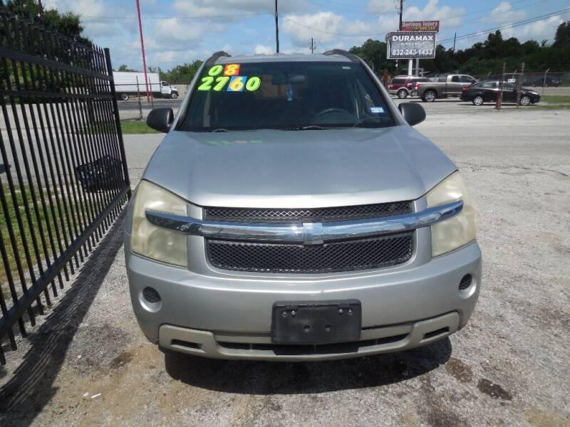2008 Chevrolet Equinox for sale at SCOTT HARRISON MOTOR CO in Houston TX