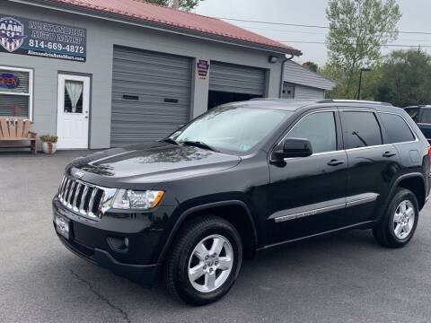 2012 Jeep Grand Cherokee for sale at Alexandria Auto Mart LLC in Alexandria PA