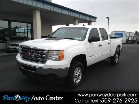 2013 GMC Sierra 2500HD for sale at PARKWAY AUTO CENTER AND RV in Deer Park WA
