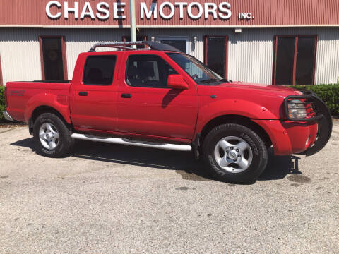 2001 Nissan Frontier for sale at Chase Motors Inc in Stafford TX