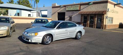2003 Pontiac Grand Am for sale at Auto Solutions in Mesa AZ
