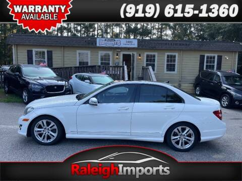 2014 Mercedes-Benz C-Class for sale at Raleigh Imports in Raleigh NC