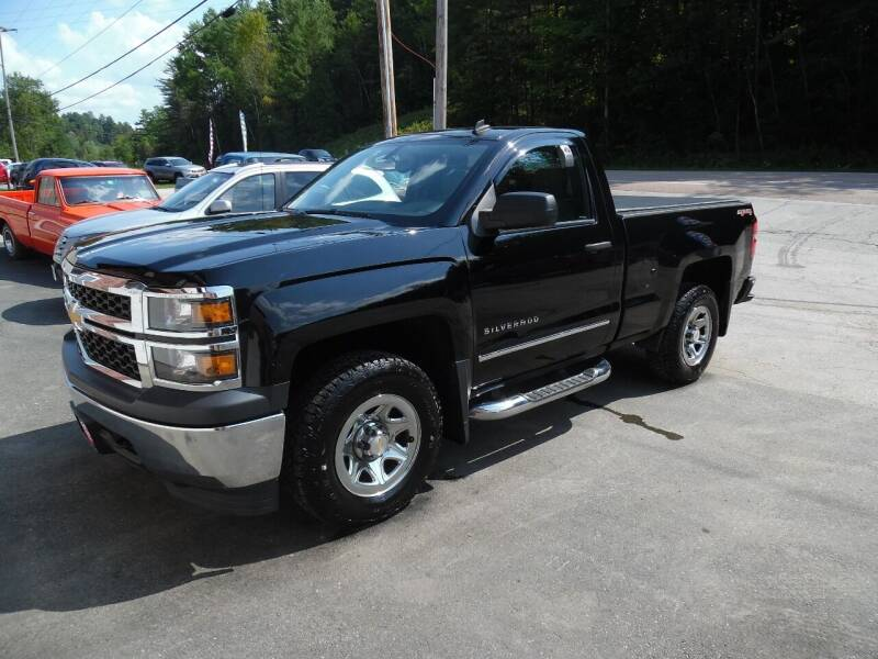 2014 Chevrolet Silverado 1500 for sale at East Barre Auto Sales, LLC in East Barre VT