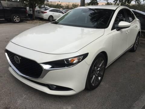 2019 Mazda Mazda3 Sedan for sale at DORAL HYUNDAI in Doral FL