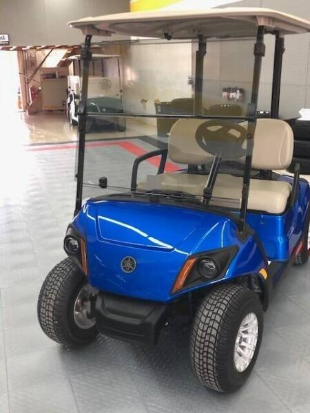 2018 Yamaha Gas Golf Car for sale at Curry's Body Shop in Osborne KS