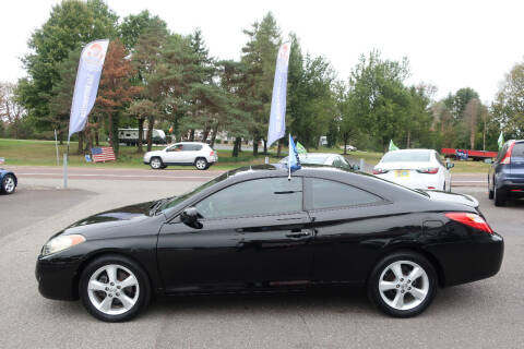 2004 Toyota Camry Solara for sale at GEG Automotive in Gilbertsville PA