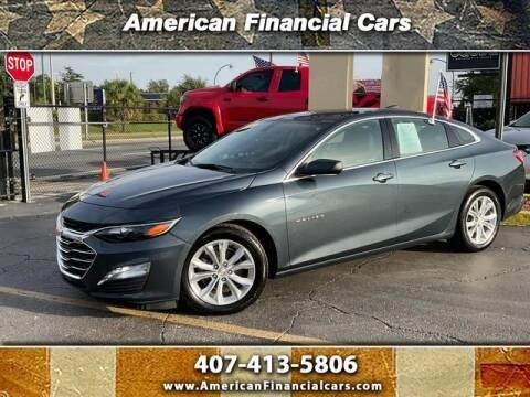 2020 Chevrolet Malibu for sale at American Financial Cars in Orlando FL