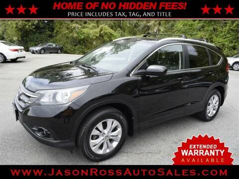 2014 Honda CR-V for sale at Jason Ross Auto Sales in Burlington NC