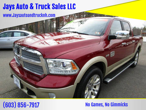 2013 RAM Ram Pickup 1500 for sale at Jays Auto & Truck Sales LLC in Loudon NH