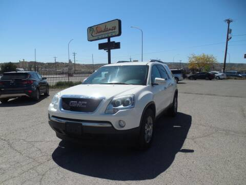 2009 GMC Acadia for sale at Sundance Motors in Gallup NM