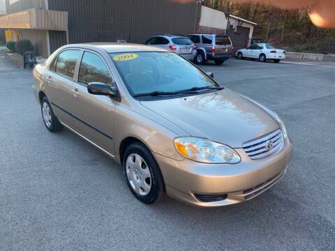 2004 Toyota Corolla for sale at Worldwide Auto Group LLC in Monroeville PA