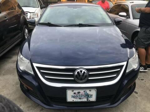 2010 Volkswagen CC for sale at America Auto Wholesale Inc in Miami FL