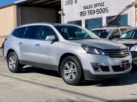 2015 Chevrolet Traverse for sale at Auto Source in Banning CA