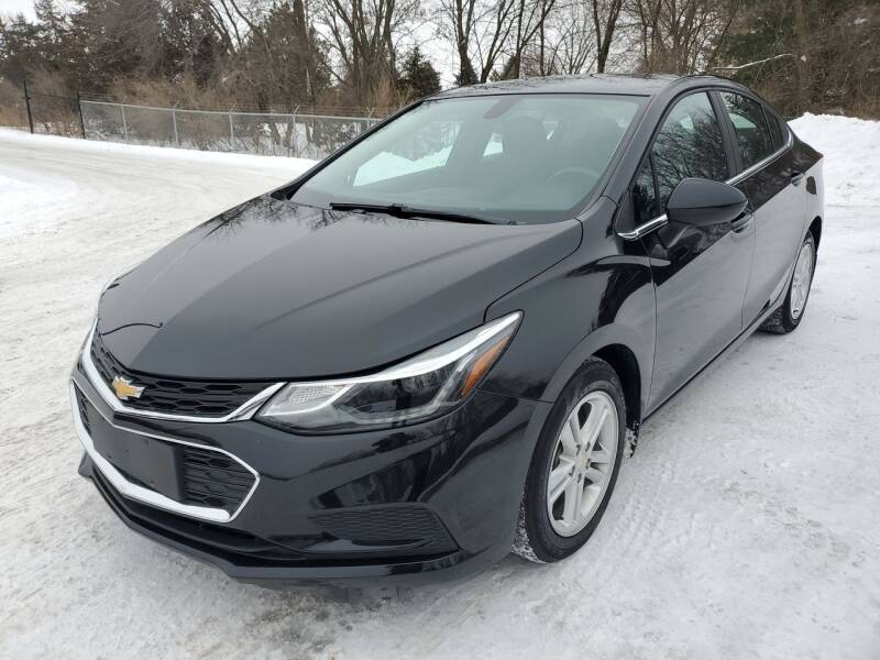 2017 Chevrolet Cruze for sale at Ace Auto in Jordan MN