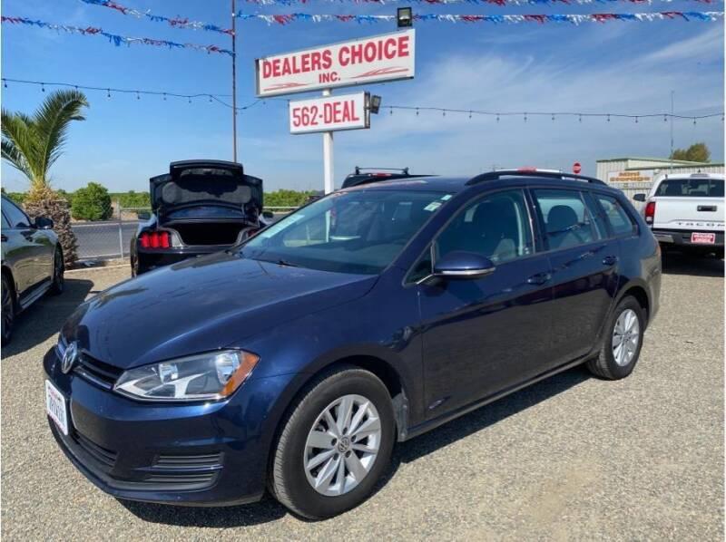 2016 Volkswagen Golf SportWagen for sale at Dealers Choice Inc in Farmersville CA