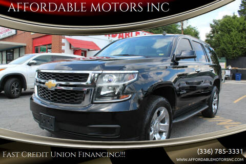 2015 Chevrolet Tahoe for sale at AFFORDABLE MOTORS INC in Winston Salem NC