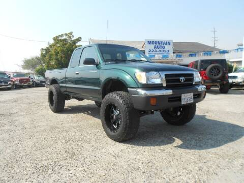 1999 Toyota Tacoma for sale at Mountain Auto in Jackson CA