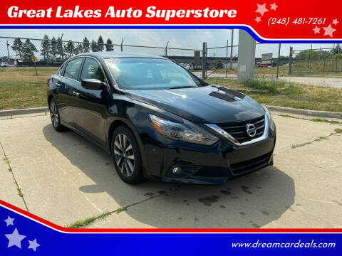 2017 Nissan Altima for sale at Great Lakes Auto Superstore in Pontiac MI