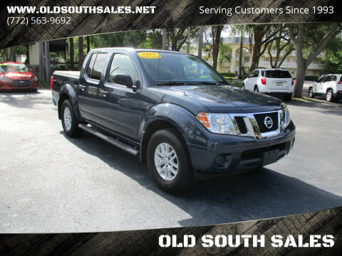 2019 Nissan Frontier for sale at OLD SOUTH SALES in Vero Beach FL