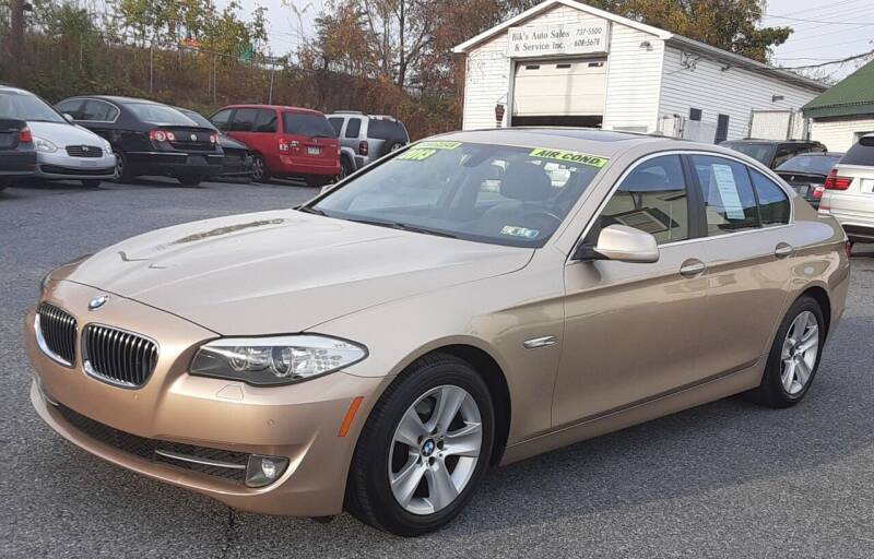 2013 BMW 5 Series for sale at Bik's Auto Sales in Camp Hill PA