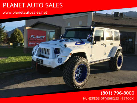 2016 Jeep Wrangler Unlimited for sale at PLANET AUTO SALES in Lindon UT