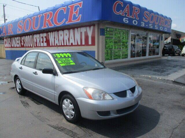 2004 Mitsubishi Lancer for sale at CAR SOURCE OKC in Oklahoma City OK