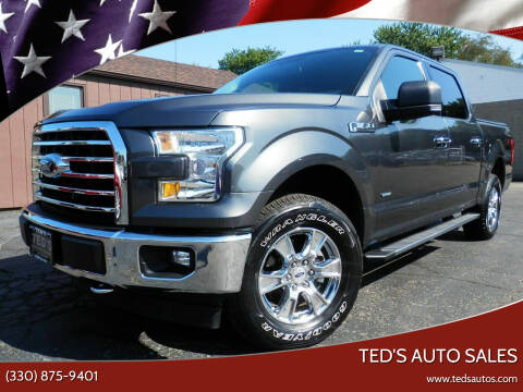 2017 Ford F-150 for sale at Ted's Auto Sales in Louisville OH
