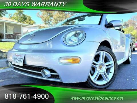 2004 Volkswagen New Beetle Convertible for sale at Prestige Auto Sports Inc in North Hollywood CA