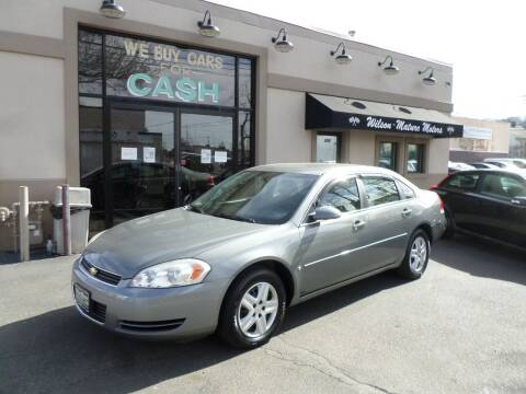 2008 Chevrolet Impala for sale at Wilson-Maturo Motors in New Haven Ct CT