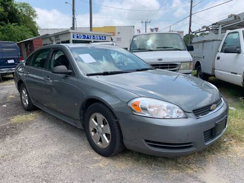 2009 Chevrolet Impala for sale at C.J. AUTO SALES llc. in San Antonio TX